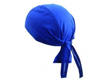 Bandana Hat - royal blau