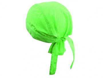 Bandana Hat - lime green