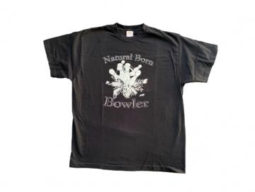 Bowling T-Shirt - Natural Born Bowler