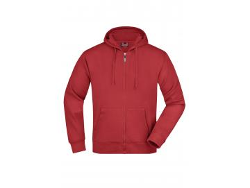 Men´s Hooded Jacket - rot
