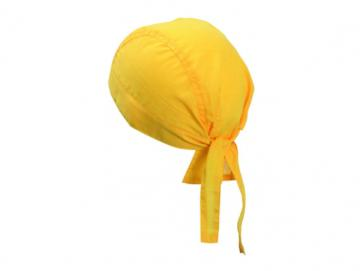 Bandana Hat - gold yellow