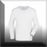 Men´s Long-Sleeved Medium - weiss